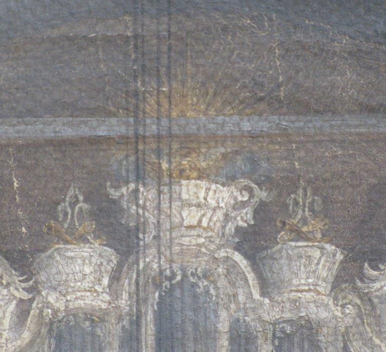 Schilderij bekroningen bovenwerk