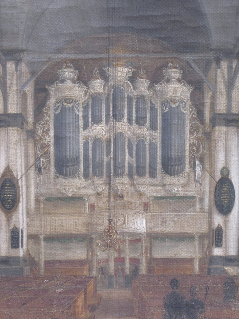 Schilderij orgel