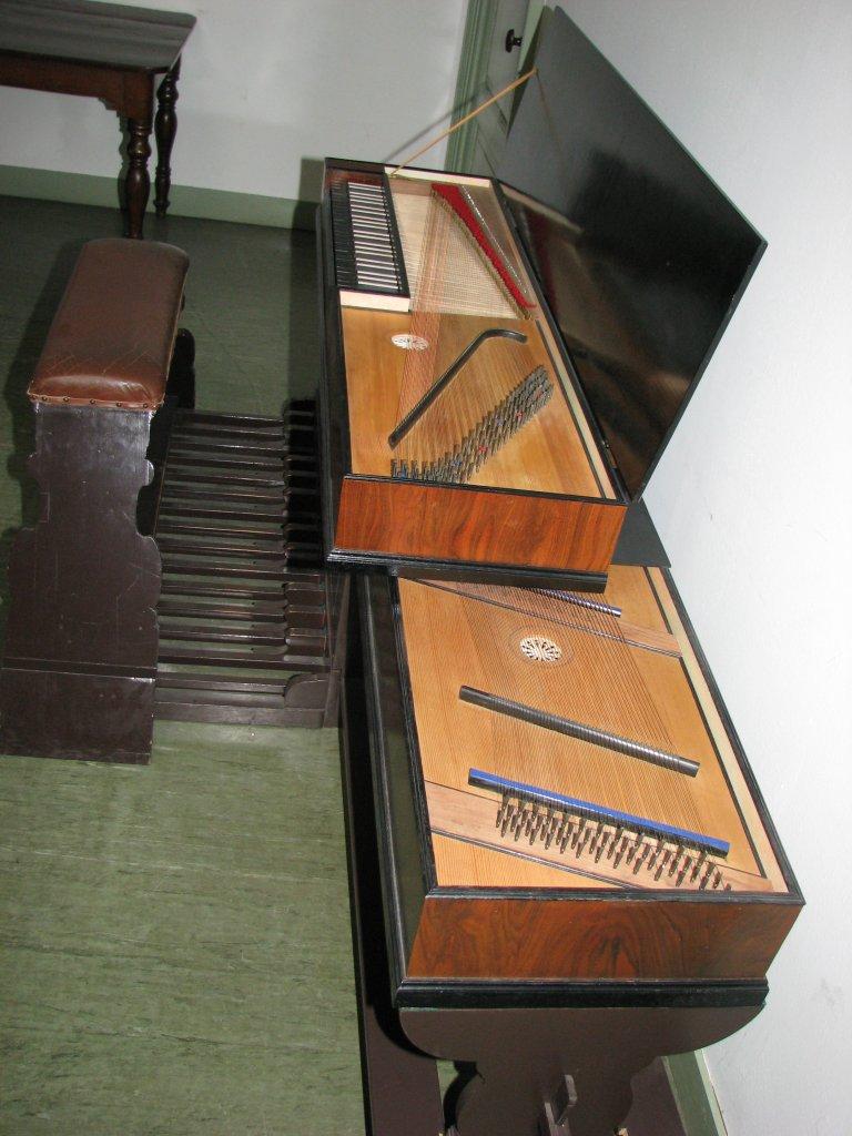 Pedaalclavichord 18e eeuw