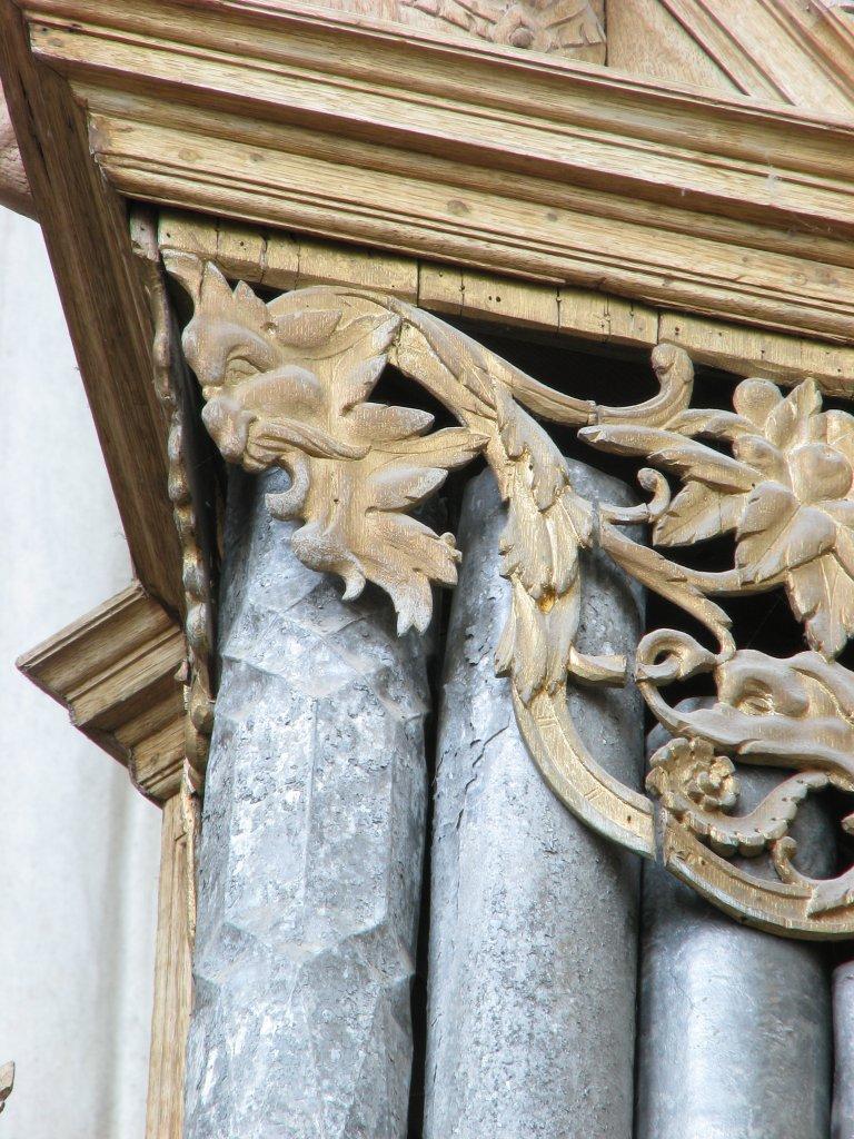 Rugpositief detail middentoren