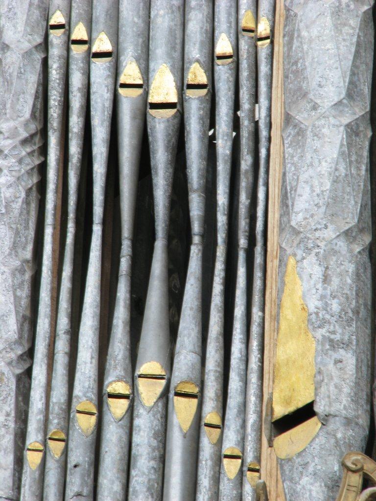 Rugpositief linker toren