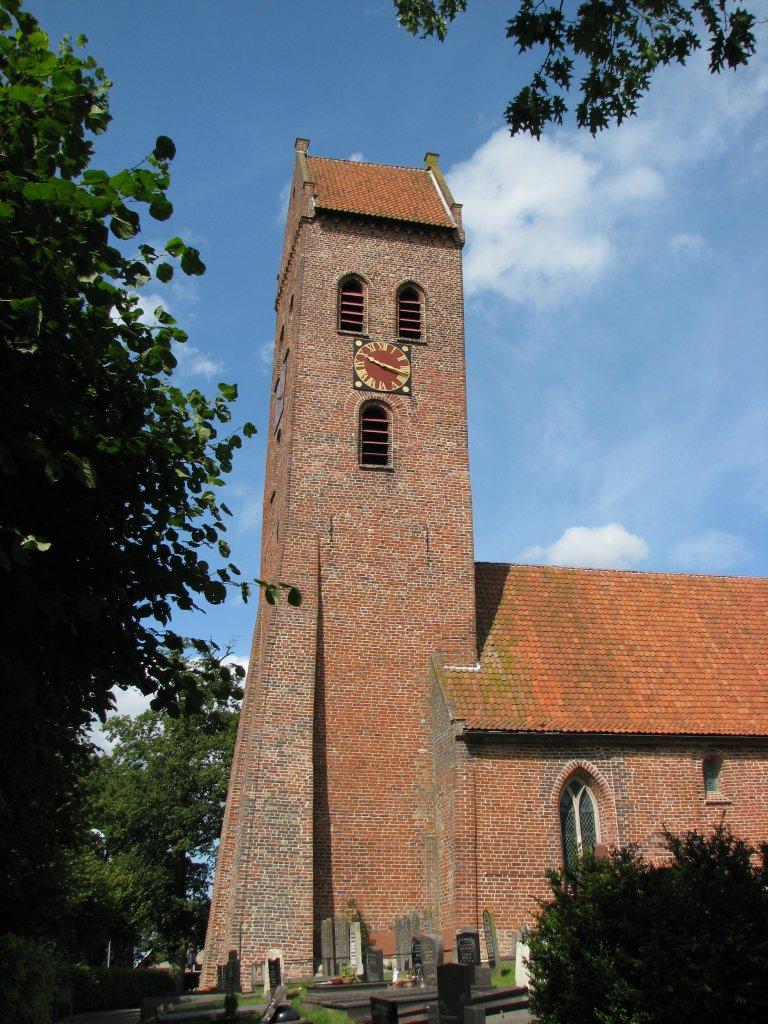 Toren van de Dorpskerk te Midwolde
