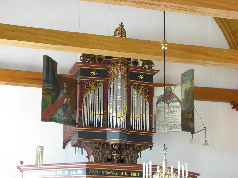Midwolde Dorpskerk, Orgel