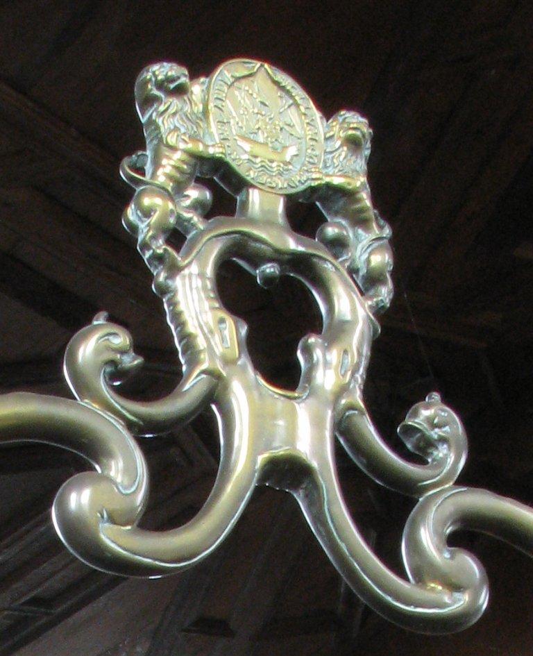 Detail doopboog