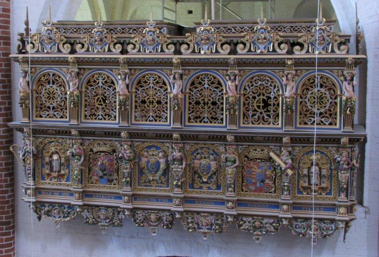 Roskilde Domkirke Koningsgestoelte
