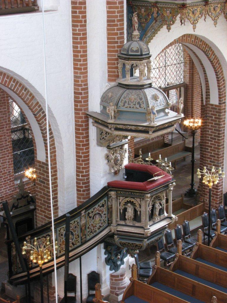 Roskilde Domkirke Preekstoel
