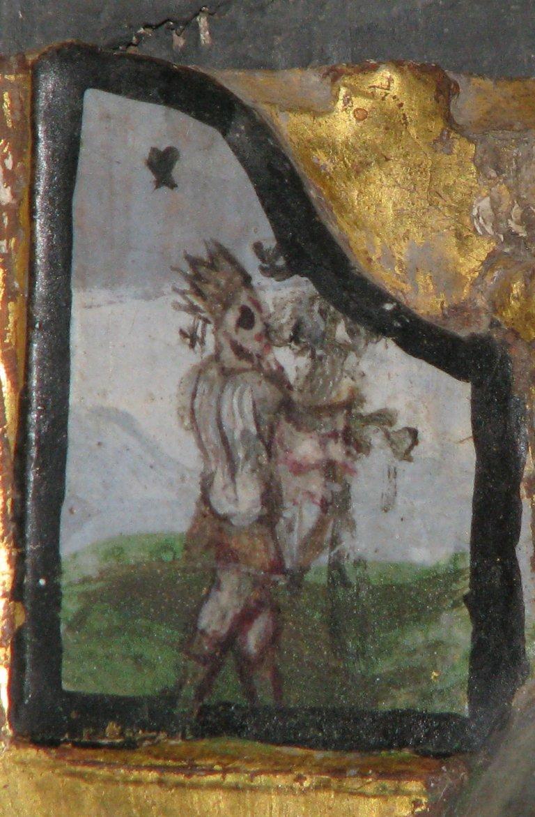 Altaar, linker orgelluik