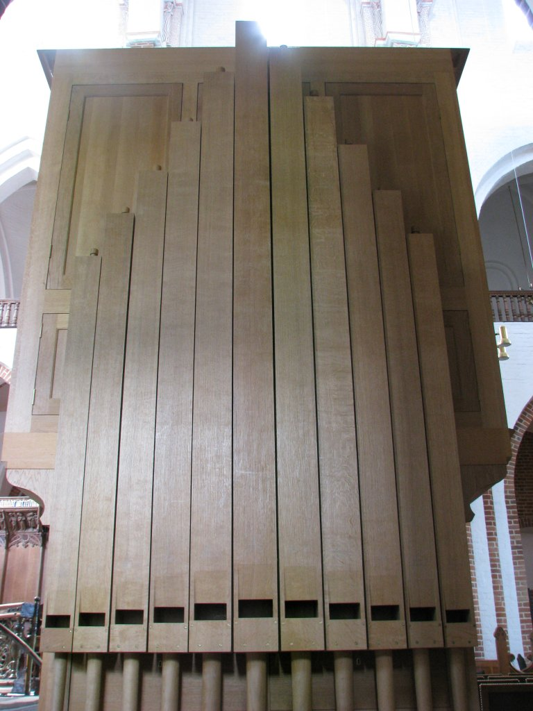 Marcussenorgel 2000, houten pijpen