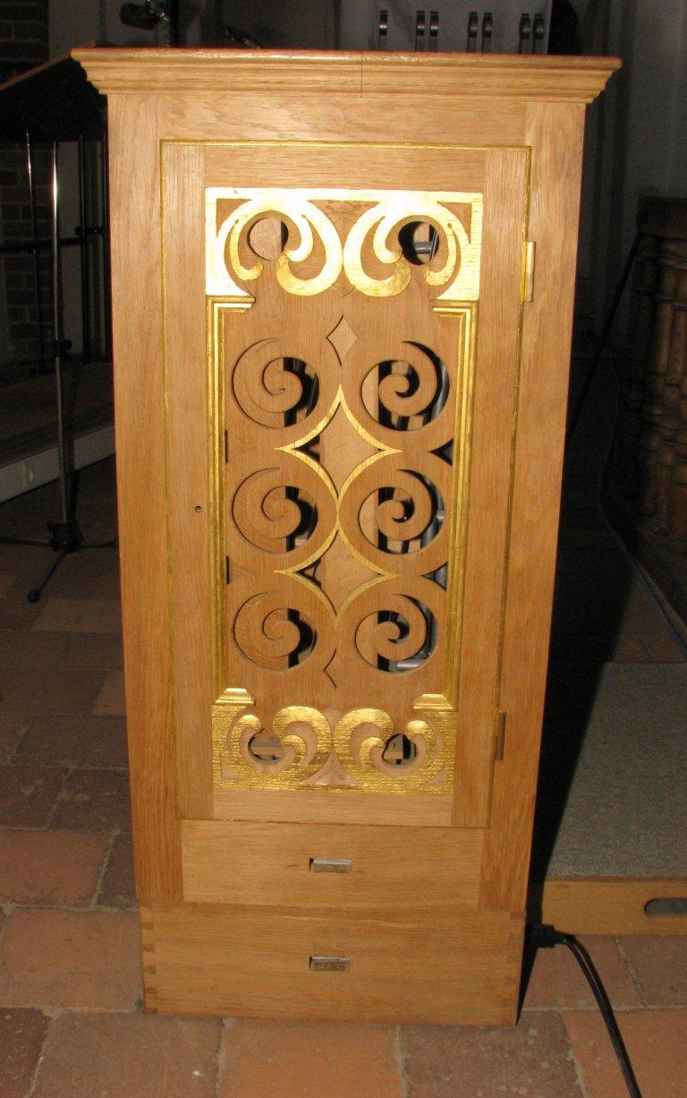 Continuo-orgel op westelijke tribune