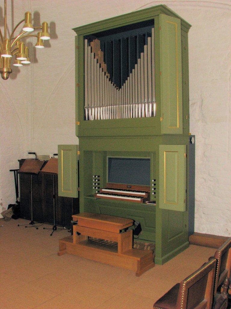 Studieruimte met orgel
