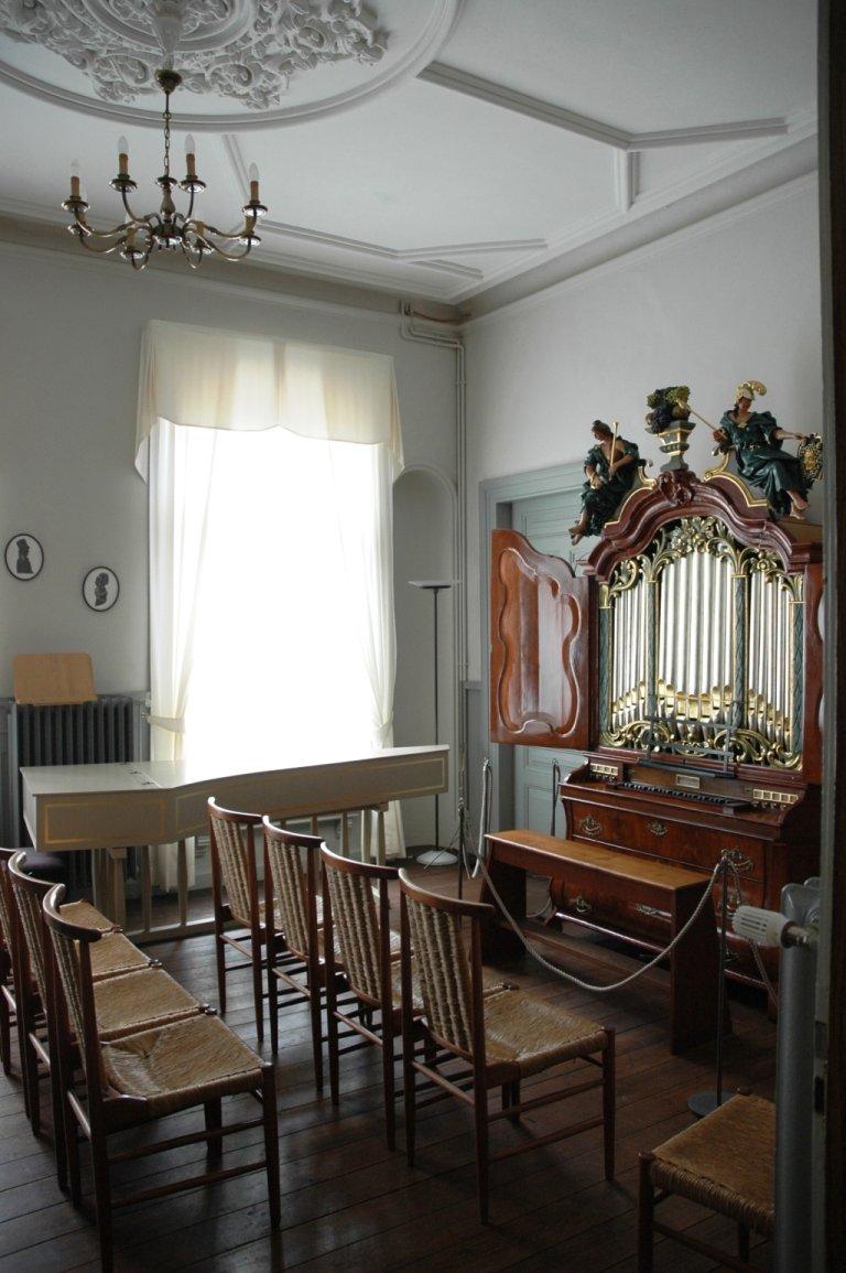Clavecimbel Klaus Ahrend, 1966 en Orgel Ibe Peters Iben 1790