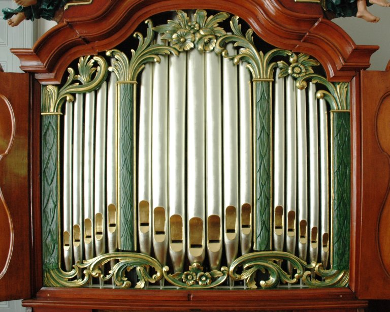 Orgel Ibe Peters Iben 1790, Front