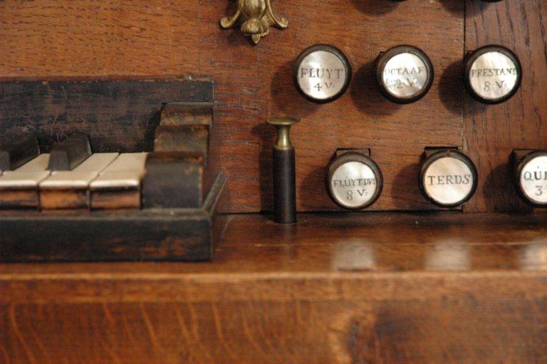 Orgel Jan Jacob Vool ca. 1800, Windwijzer