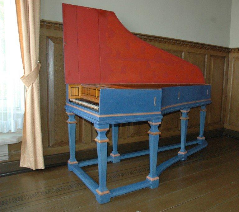 Clavecimbel Christian Zell 1741