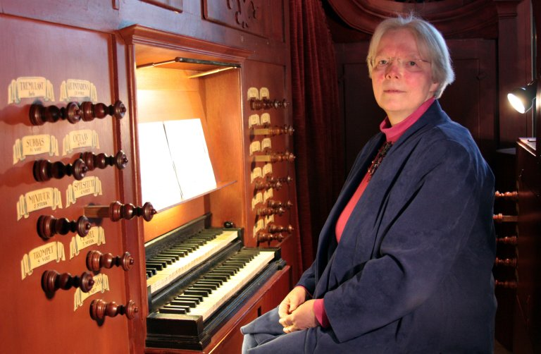 Elly Kooiman Orgel Weener, foto Hinrich Kuper